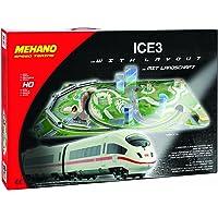 Mehano Ice 3–Juego de Tren con maqueta, Color