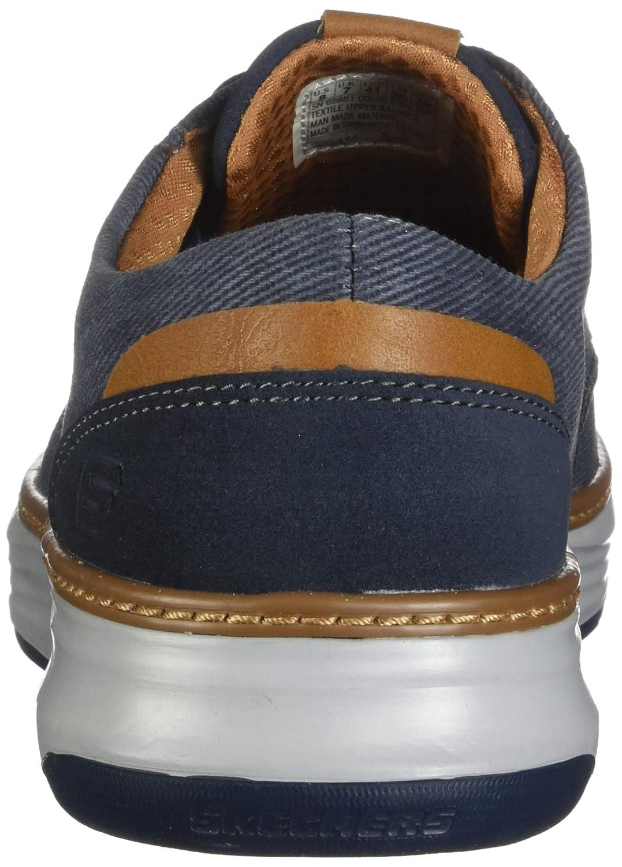 eeb542f5dc Amazon.com | Skechers Men's Moreno Canvas Oxford | Shoes