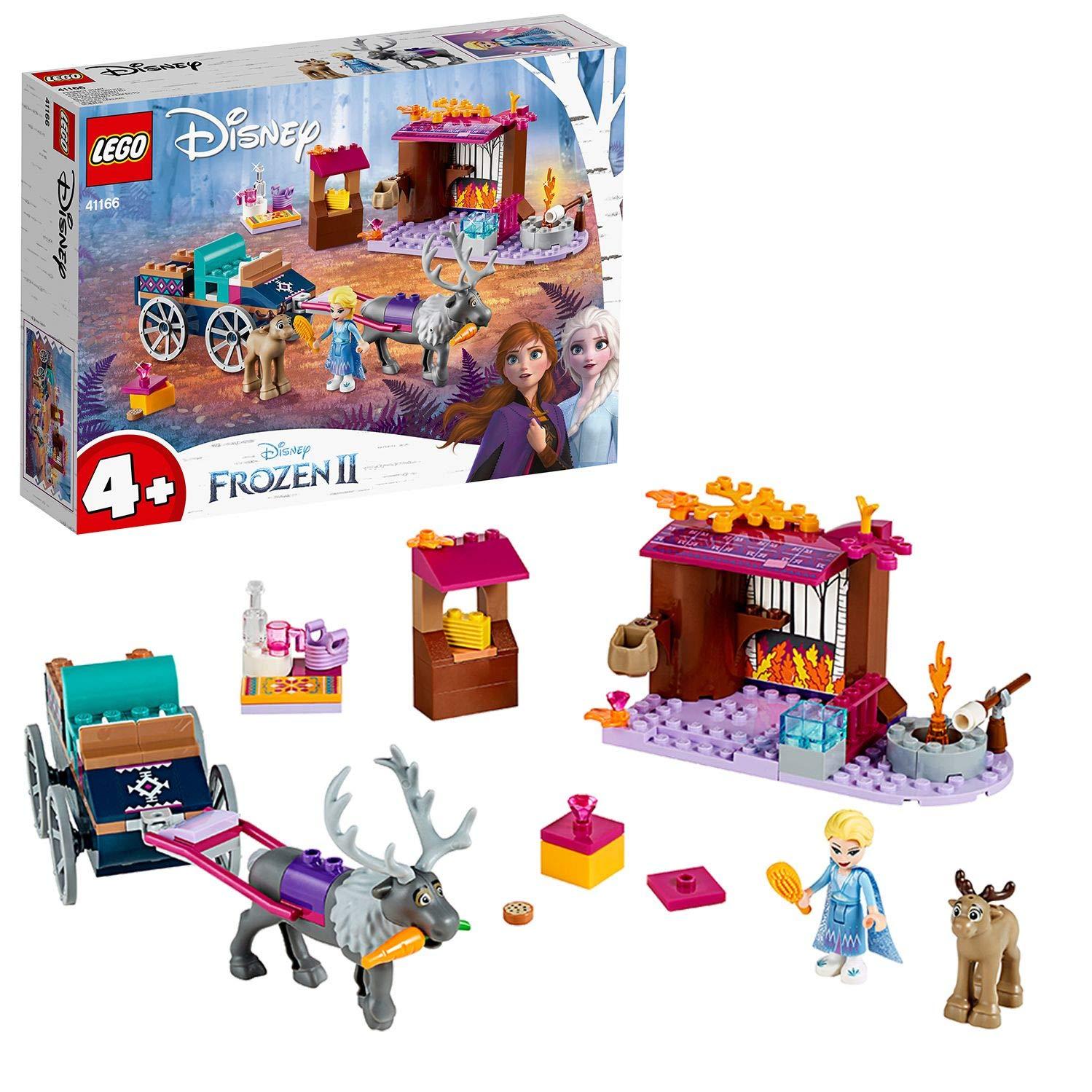 レゴ(LEGO) ディズニープリンセス アナと雪の女王2 エルサのワゴン・アドベンチャー 41166