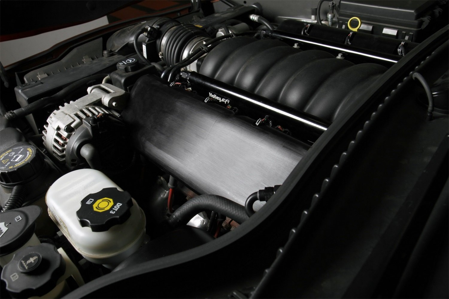 Holley 242-1 LS Coil Cover for BB Chevy Replica