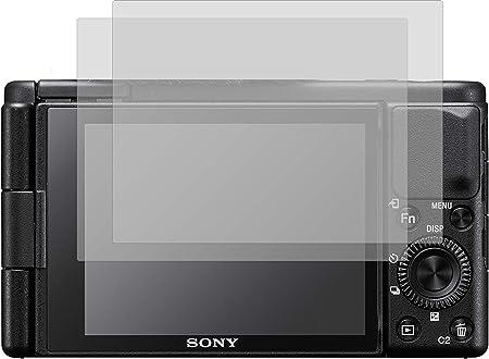 4protec I 2x Schutzfolie Klar Passgenau Für Sony Zv 1 Computer Zubehör