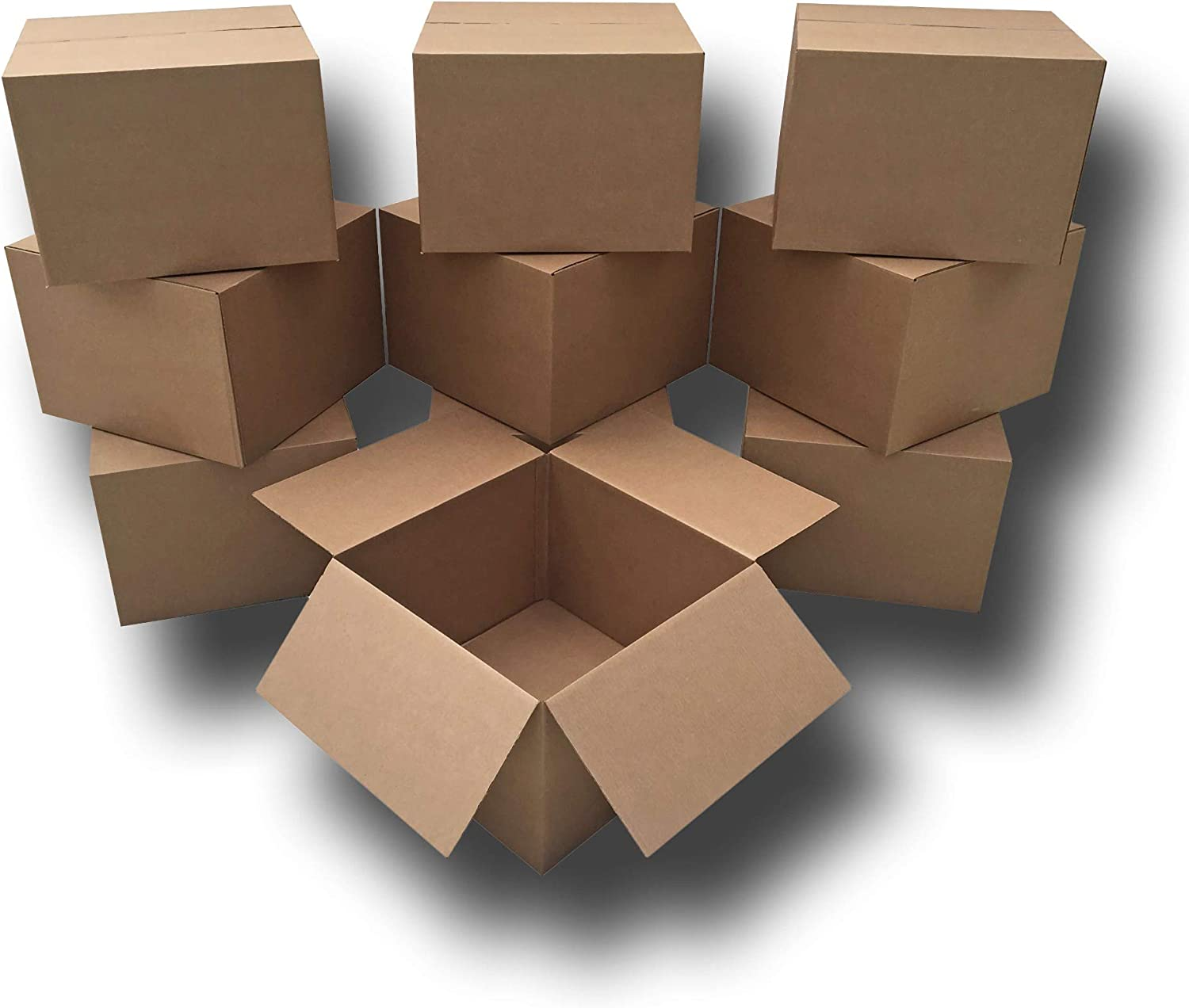 Uboxes 10 Extra Large Moving Boxes 23x23x16 Standard Corrugated Moving Box 2 Pack 23 x 23 x 16