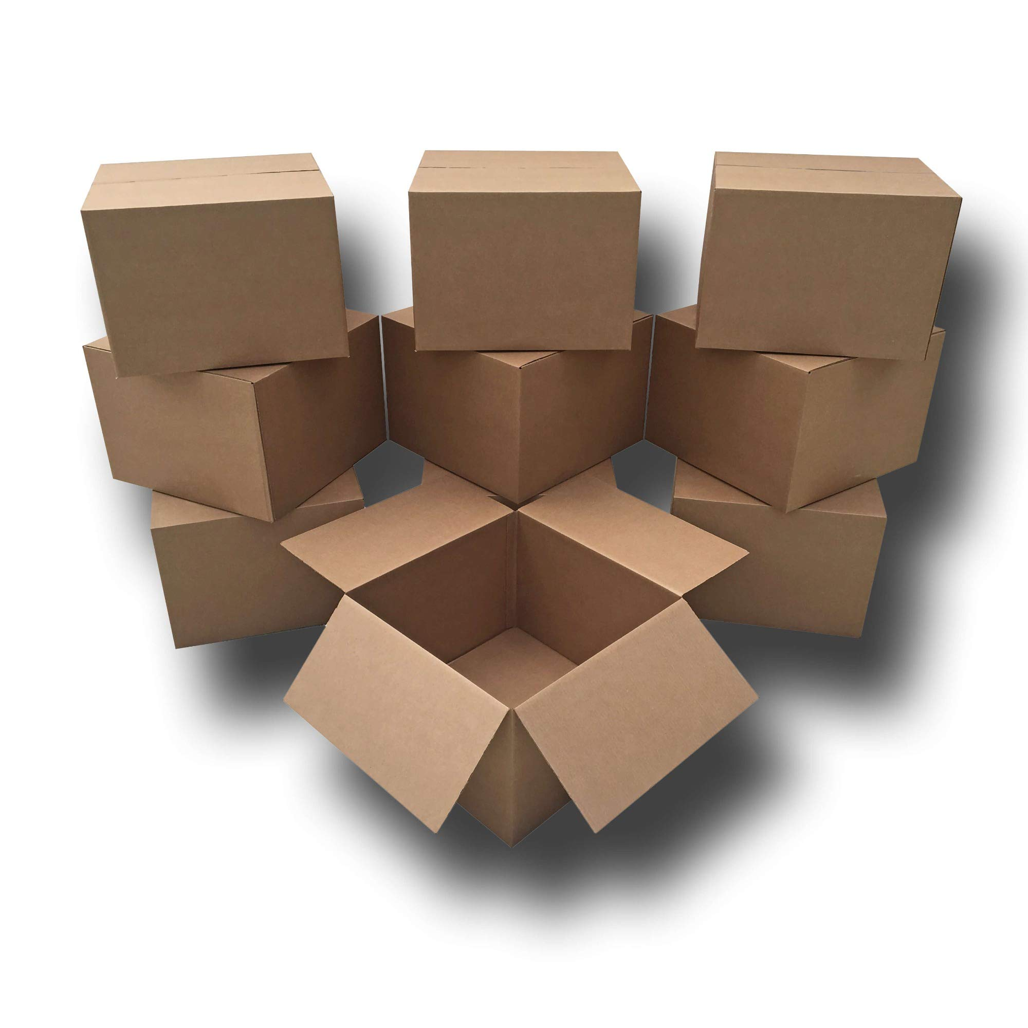 UBOXES 10 Extra Large Moving Boxes 23x23x16'' Standard Corrugated Moving Box