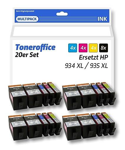 fop Juego de cartuchos de impresora XL compatible para HP ...