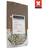 NEOBOTANICS® Premium Bio Chia Samen - 200 g - raw - vegan - Organic food - geprüfte Qualität, Proteine, Omega 3 Fettsäuren und Ballaststoffe (DE-ÖKO-006) Praktische Zipp-Verpackung