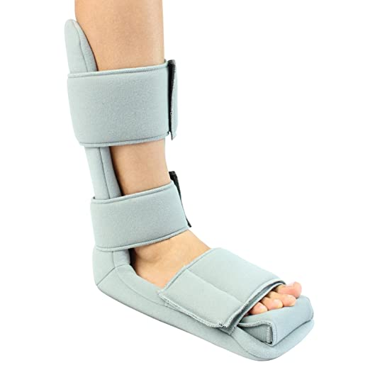 Plantar Fasciitis Night Splint By Vive - Soft Night Splint for Plantar Fasciitis