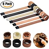 Magic Bun Maker Hair Accessories French Twist Hairstyle Synthetic Hair Material Easy Making Natural Look Bun Disks Tool with Flexible Sheet Inside(Pack of 6)