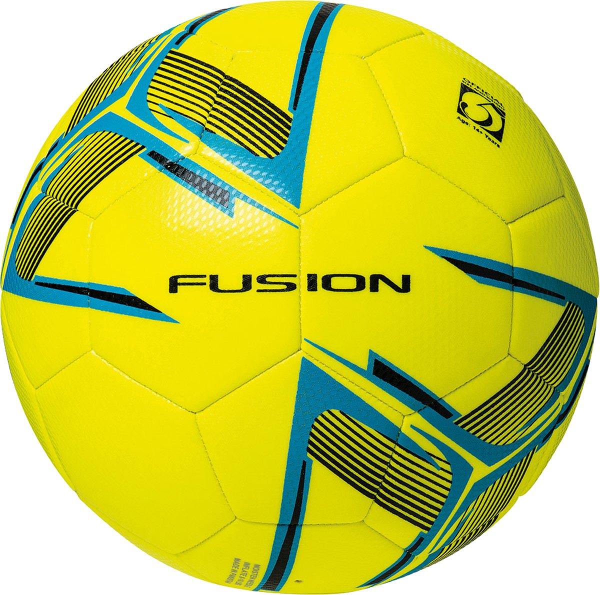Schwarz Fluo Gelb Präzisions-training Fusion-training Fußball Blau