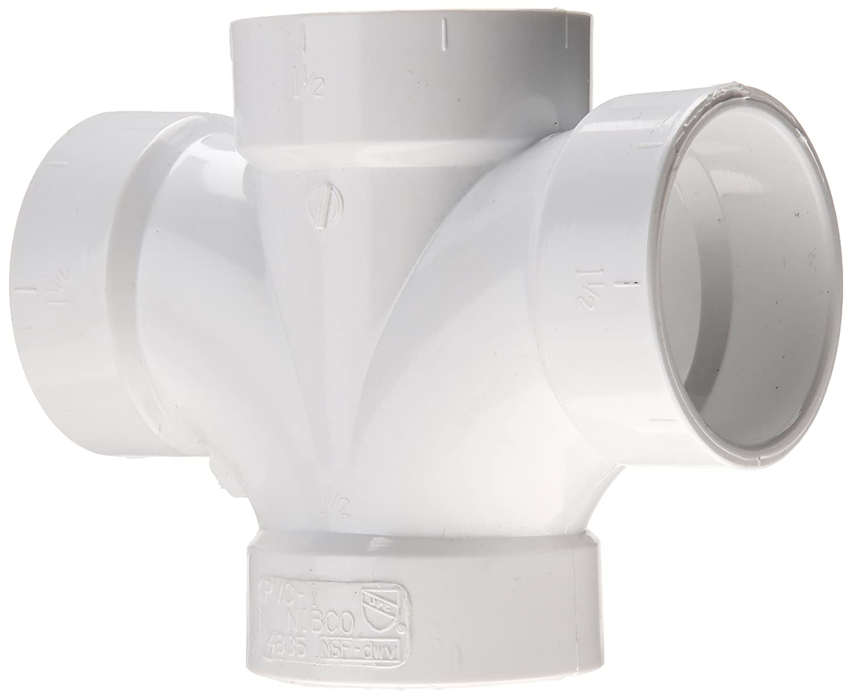 C4835 11//2 HXHXH DBLE Sanitary TEE PVC