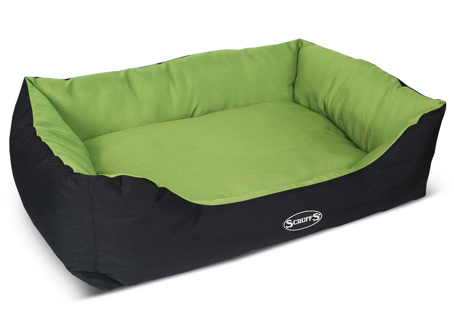Scruffs Expedition Water Resistant Dog Bed, X-Large, 90 x 70 cm, Lime