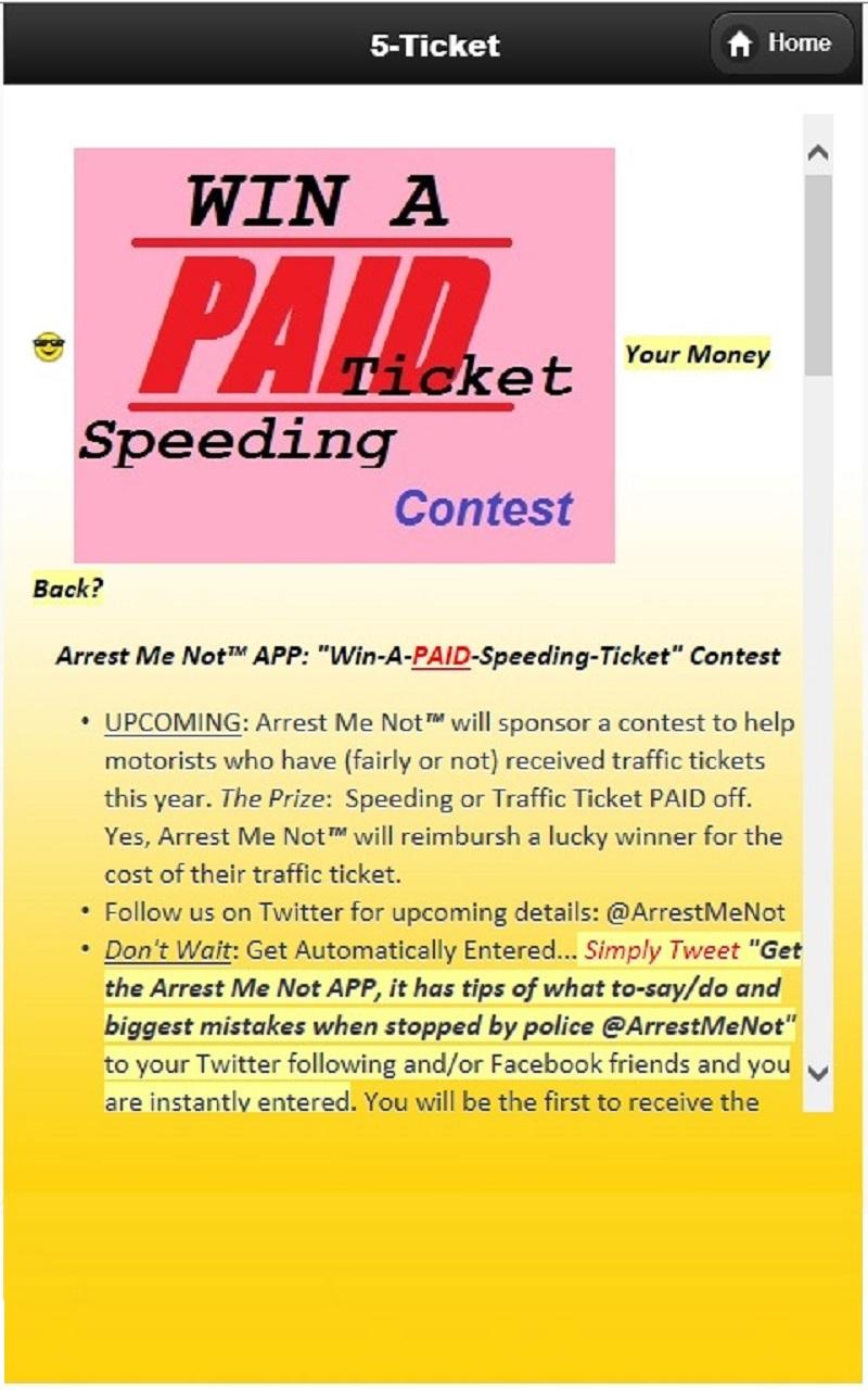 Speeding Ticket App >> Amazon Com Speeding Ticket Book Arrest Me Not App Best Gifts