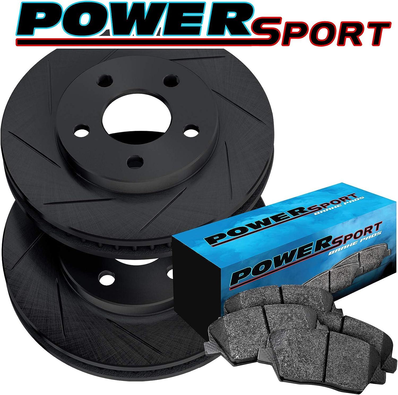 Nissan Sentra SE-R Spec V 2007-2008 Front+Rear Drill Rotors /& Ceramic Pads for