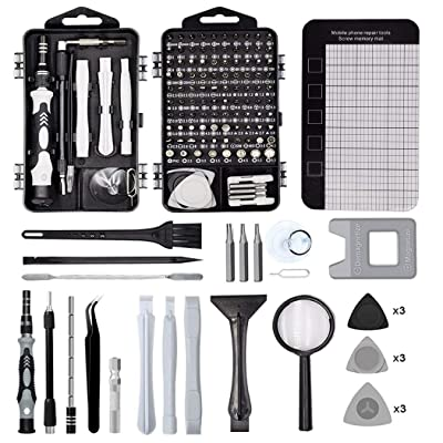 128 in 1 Precision Screwdriver Set, Birthday Christmas Fathers Day Graduation Gifts | Repair Tool Kit, Magnetic Screw Driver Bits for Iphone Computer Glasses Laptop Xbox, Present for Men Boy Dad Son