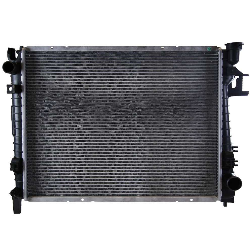Prime Choice Auto Parts RK972 New Complete Aluminum Radiator