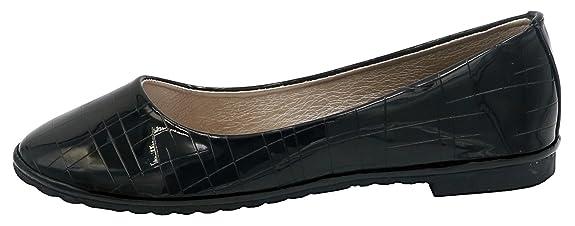 AgeeMi Shoes Damen Rund Zehe Geschlossene Ballerinas Flats Klassische Schuhe,EuD17 Aprikosen Farbe 39