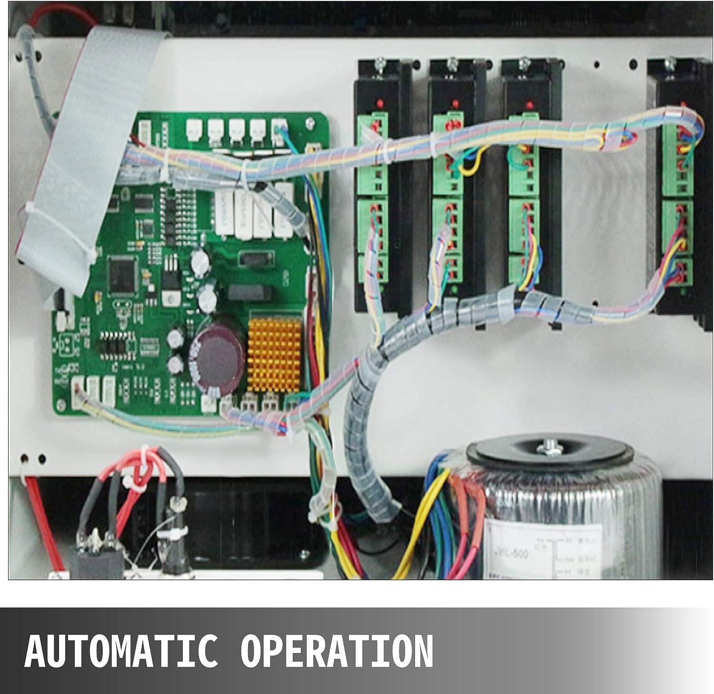 VEVOR Macchina Spelacavi Automatica SWT508-MAX1 Usata nellIndustria Elettronica Macchina Spelafili Automatica per Spogliatrici a Cavo CA220V 600W Macchina Spelafili Portatile con Display LCD