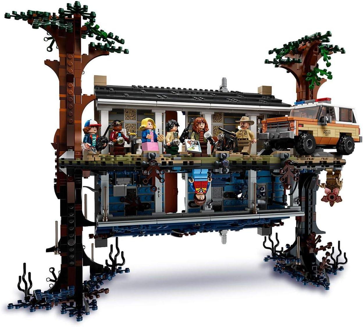LEGO Stranger Things - Mundo del revés, Set de construcción de la ...