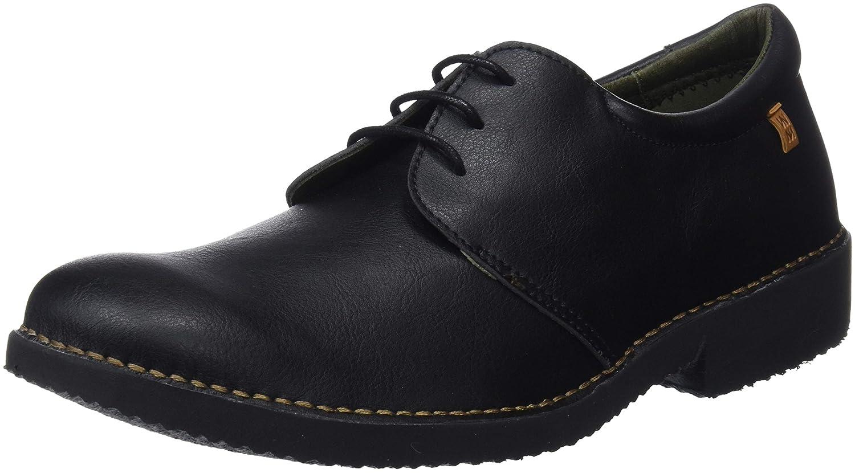 El Naturalista Ng26t Vegan Black/Yugen, Zapatos de Cordones Derby para Hombre