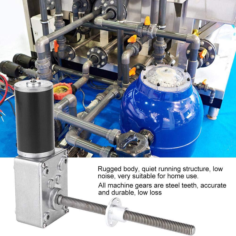Gear Motor Worm Gear Motor M8 Thread Double Ball Bearing Reduction Motor Worm Gear Motor Worm Gear Motor 2450 Motor 290K Gear Motor