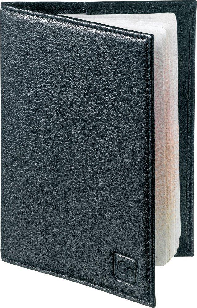Design Go Rfid Passport Holder, Black, One Size