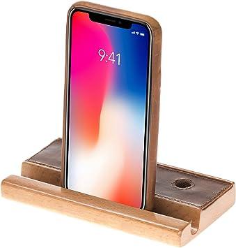 Solo Pelle Teléfono Móvil Soporte Smartphone Soporte – Soporte ...