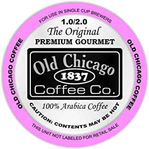 The Original Old Chicago Coffee French Roast, K-Cup Compatible Capsules for All Brewers, 12 Count
