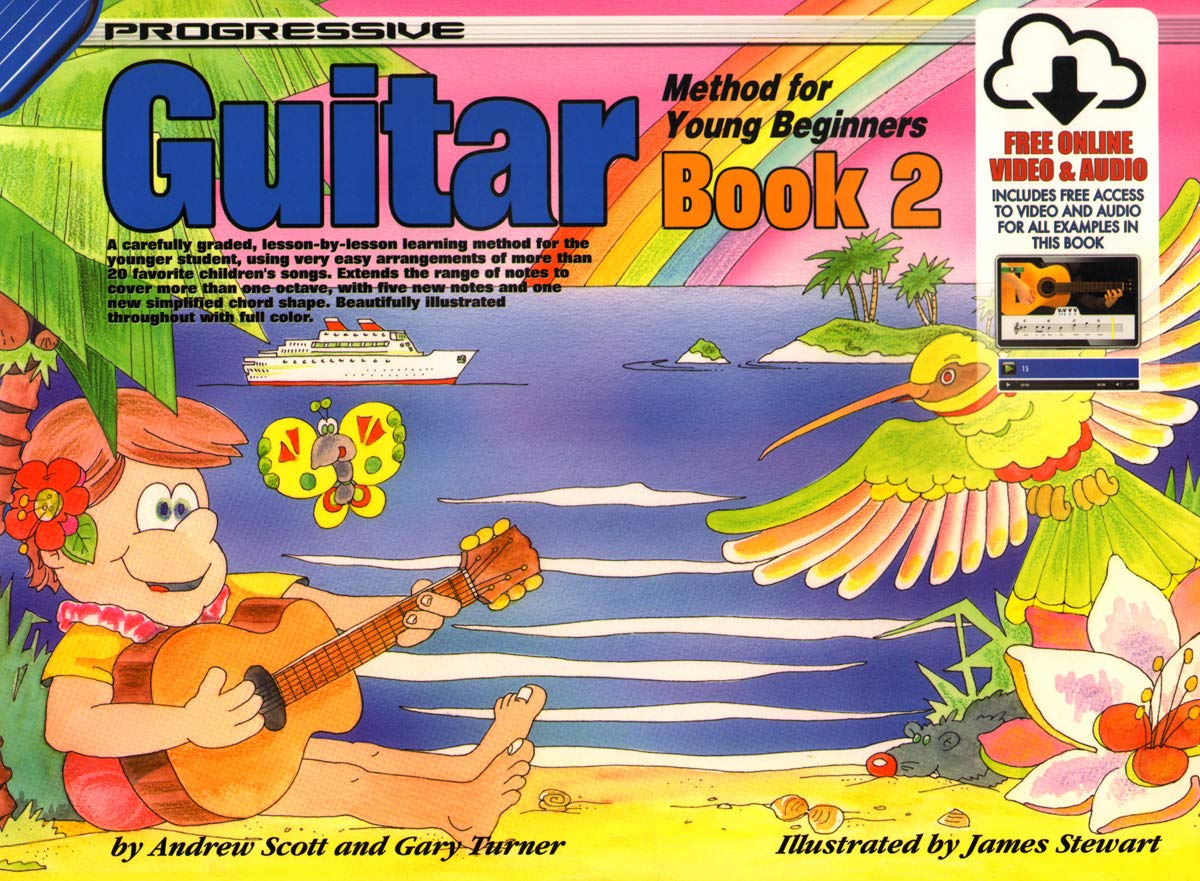 cp18322 progressive guitar method for young beginners book 1 book online audio and video progressive young beginners