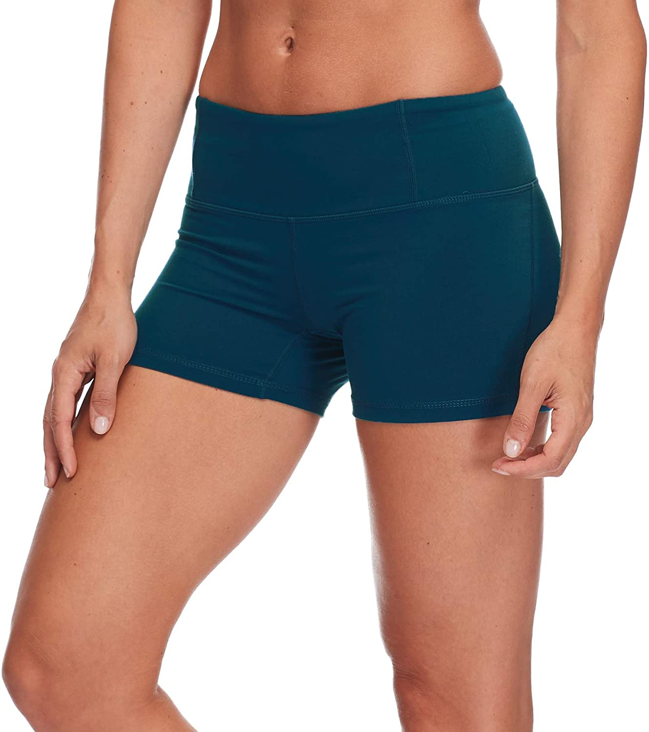 Body Glove Womens Get Shorty Performance Fit Activewear Short