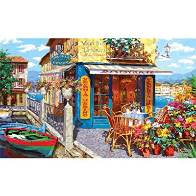 Jigsaw Puzzles for Adults 1000 Pieces Landscape-Bay Tavern Jigsaw Puzzle Toys DIY Constellation Puzzles: Arts, Crafts & Sewing