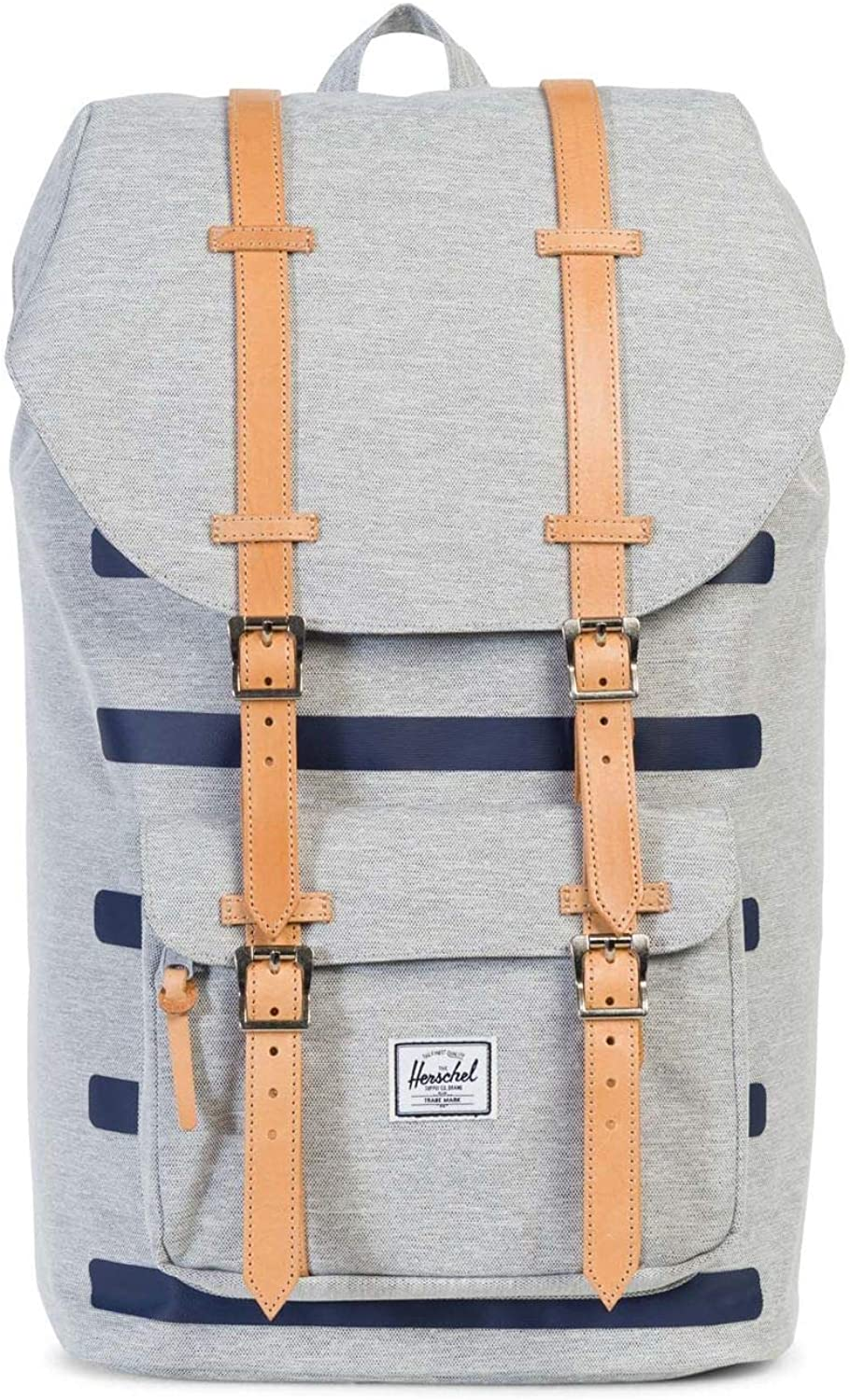 New Herschel Men's Little America Backpack Mesh Grey