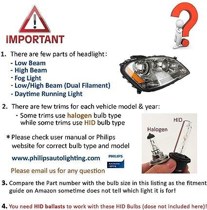 O-NEX 2x XENON H1 HID Bulbs AC 35W Headlight Replacement High Bright 6000K Crystal White