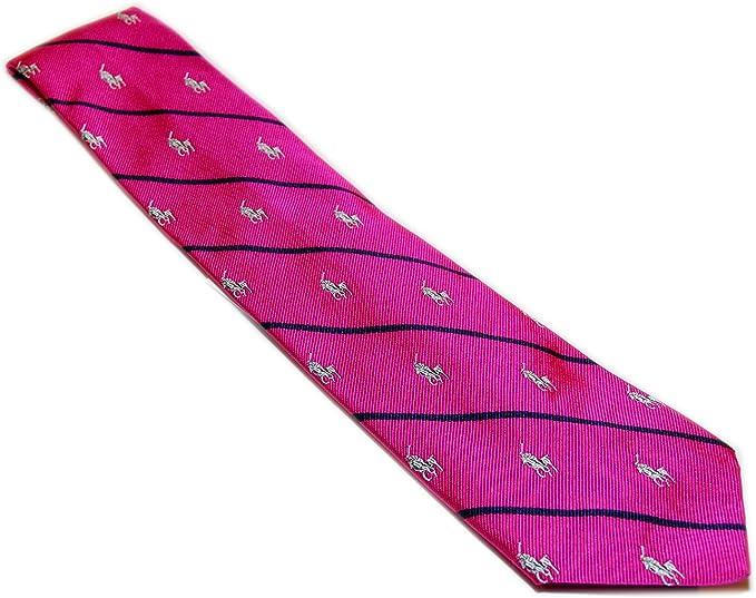 Ralph Lauren Polo Corbata de seda para hombre, diseño de caballo ...