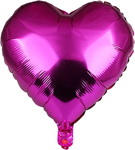 """18/"""" heart Shape Foil Balloons 10 Color Home Party Wedding Festival Decor 1-20PCS"""