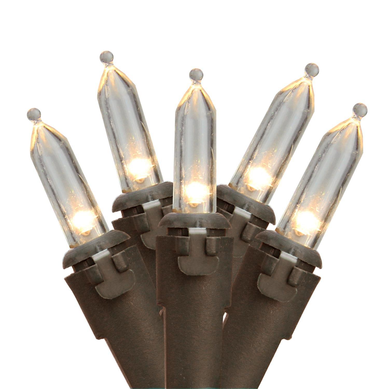 Amazon.com : Northlight Set of 50 Warm White LED Mini Christmas ...