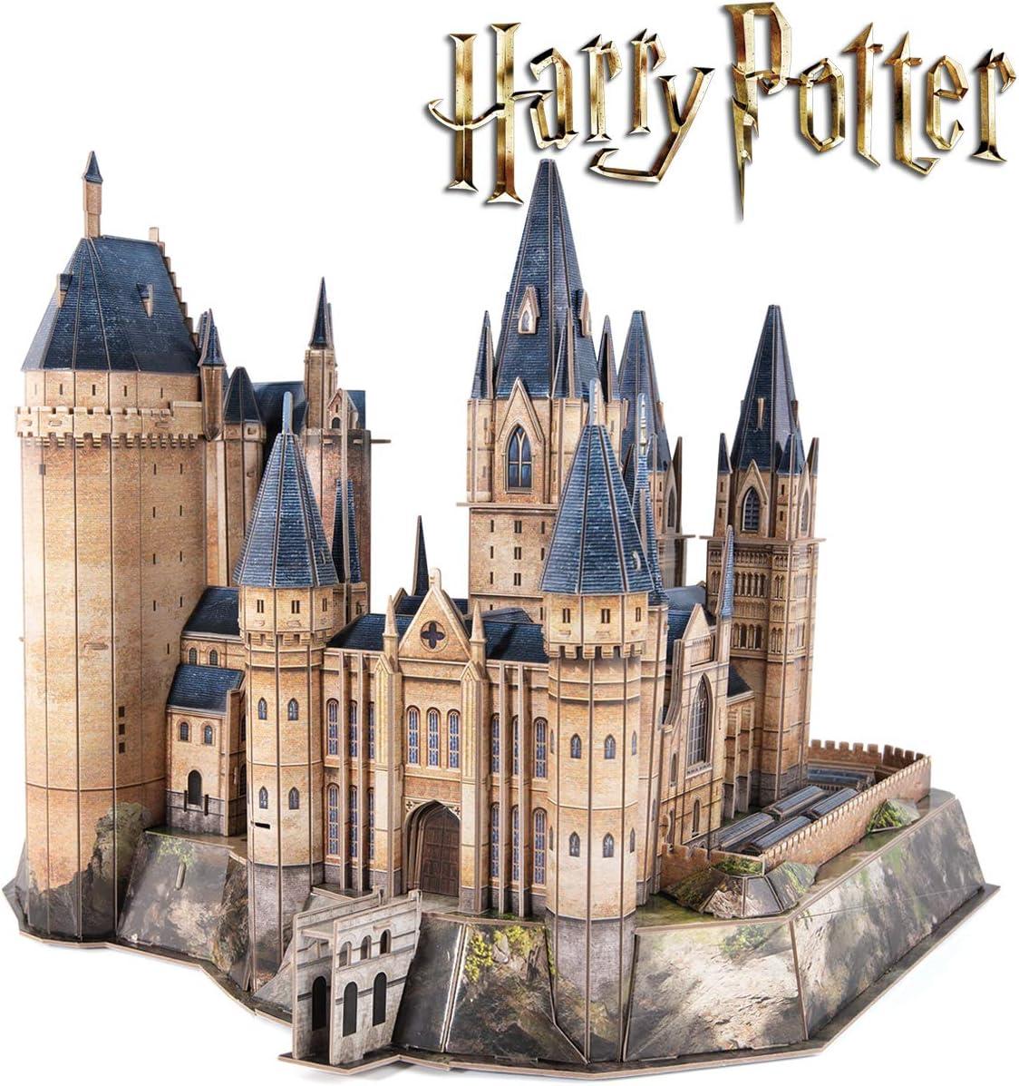 CubicFun Puzzle 3D Harry Potter Torre de la Astronomía de Hogwarts Puzzles 3D Kits de Construcción Maquetas para Construir Adultos Regalo para Niños Adolescentes, 237 Pizas