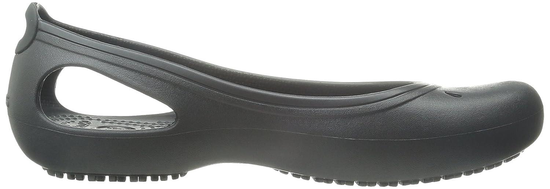 Crocs Women's Kadee Flat / B07D6NB5M3 35-36 M EU / Flat 5 B(M) US|Black c3ed2f