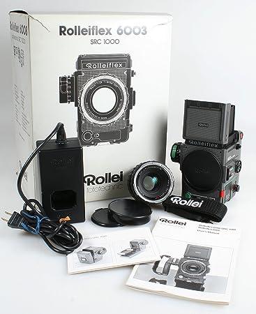 amazon com rolleiflex 6003 integral 80mm f 2 8 medium format film rh amazon com Hewlett-Packard Cameras Digital Camera From 2001 Rolleiflex Digital Camera