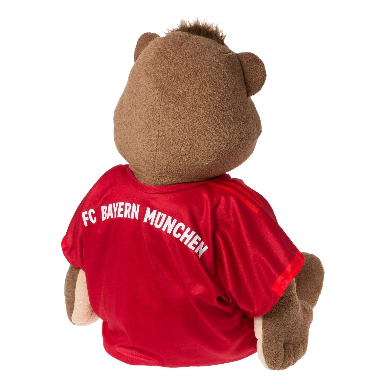 Plus Lesezeichen I Love M/ünchen Maskottchen FCB FC Bayern M/ünchen Berni 35 cm Saison 2019//20