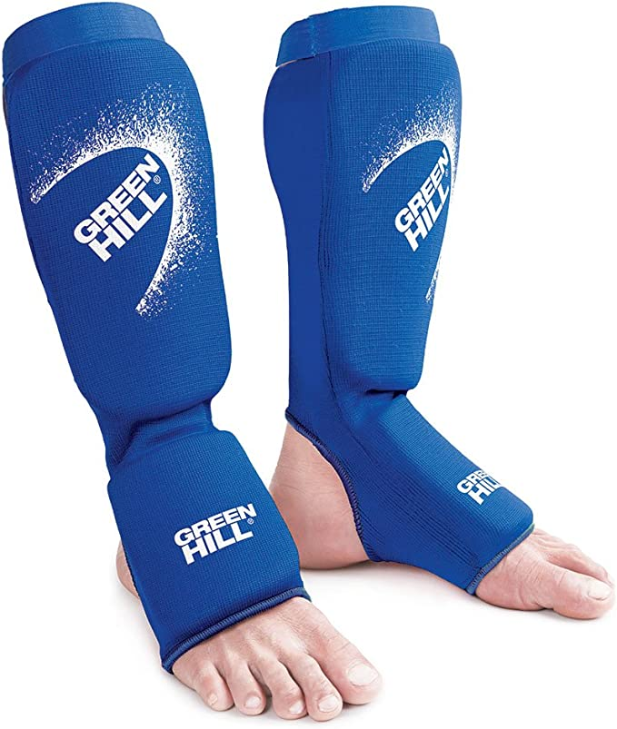 Amazon Com Green Hill Shin Instep Pad Polyester Shin Protector Shin Pad Boxing For Training Of Boxing Kickboxing Sparring Mma Martial Arts And Muay Thai Sports Outdoors