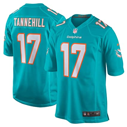 9f2fea9a Nike Ryan Tannehill Miami Dolphins NFL Youth 8-20 Aqua Teal Home On-Field