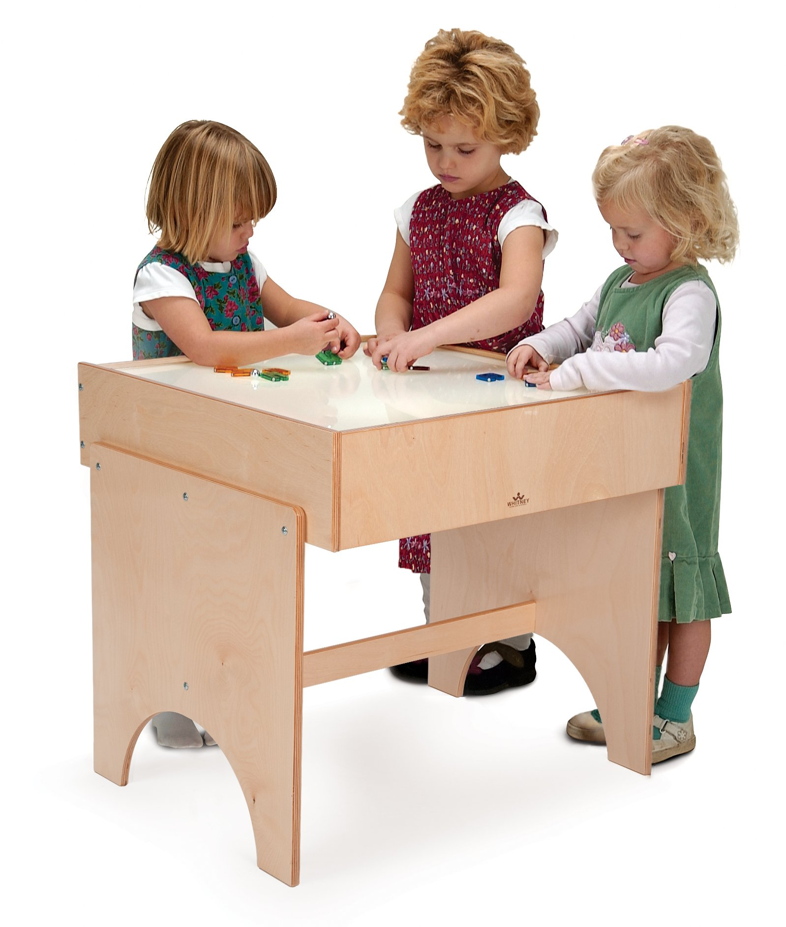 Whitney Brothers Light Table by Whitney Brothers