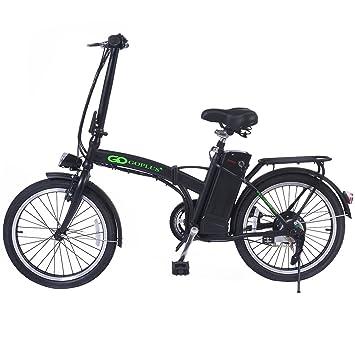 Bicicleta electrica plegable racer