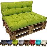 beautissu palettenkissen eco style sitzkissen 120x80x15 cm palettenauflage anthrazit. Black Bedroom Furniture Sets. Home Design Ideas