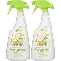 Babyganics Toy Cleaner - Fragrance Free - 17 oz - 2 pk