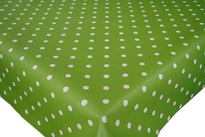 Dotty Stone PVC VINYL Wipe Clean Tablecloth All Sizes