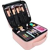 Relavel Makeup Case Travel Makeup Bag for Women Makeup Train Case Cosmetic Bag Toiletry Makeup Brushes Organizer…
