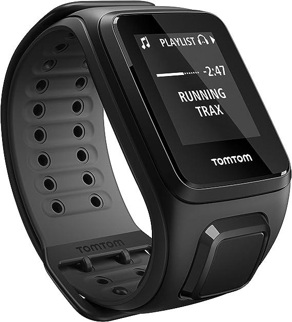 TOMTOM Runner 2 Reloj Deportivo con música, Color Negro/Gris ...