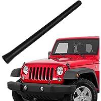 VOFONO 6 3/4 Inch Copper Antenna Compatible with Jeep Wrangler JK JKU JL JLU Rubicon Sahara 2007-2021 | Car Wash Proof…