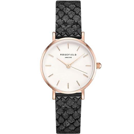 Rosefield Reloj Analógico para Mujer de Cuarzo con Correa en Cuero 26WBR-261: Amazon.es: Relojes