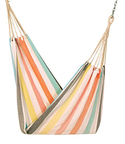Hangit Cotton Hammock (Rainbow, 335 Centimeters)